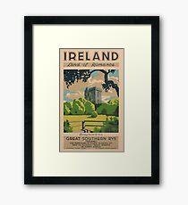 Ireland Land of Romance Framed Print