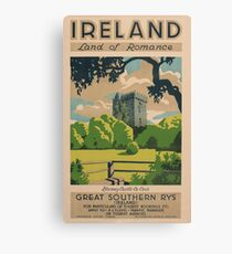 Ireland Land of Romance Canvas Print