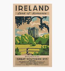 Ireland Land of Romance Photographic Print