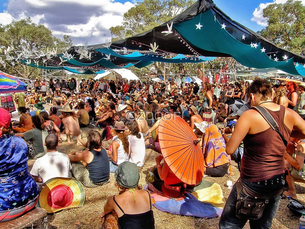 RAINBOW SERPENT FESTIVAL '08 by OZDOOF