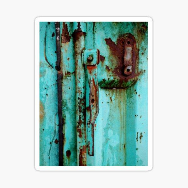 Texture Me Blue Sticker