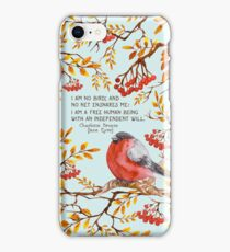 Jane Eyre Quote iPhone Case/Skin
