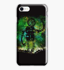 mad robot iPhone Case/Skin