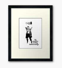 to know the Stanley Cup is to love him.... Framed Print
