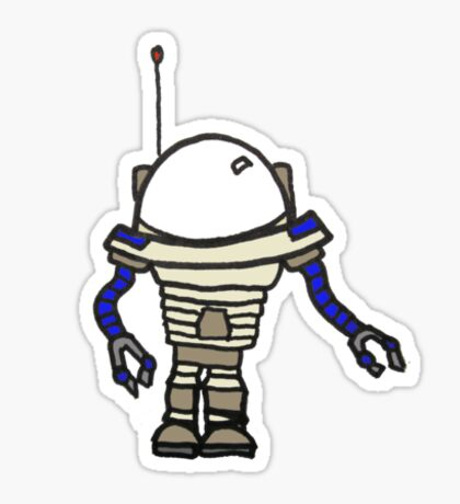 Robot *Blue* Sticker