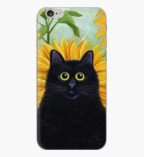 Dan de Lion with Sunflowers iPhone Case