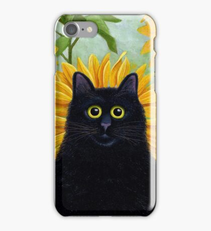 Dan de Lion with Sunflowers iPhone Case/Skin