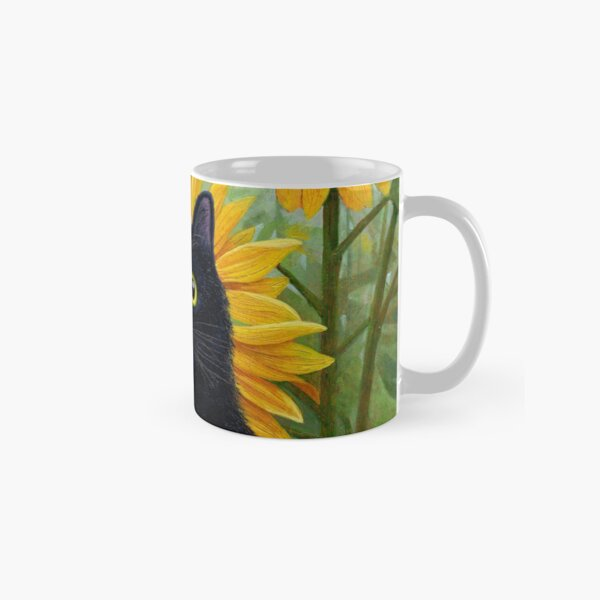 Dan de Lion with Sunflowers Classic Mug