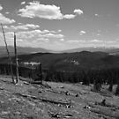 A view of the second and the third highest peaks in the lower forty-eight by Chase Ankeny