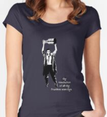 to know the Stanley Cup is to love him.... Women's Fitted Scoop T-Shirt