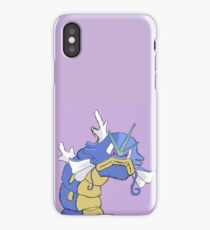 Gyarados with a closed mouth iPhone Case