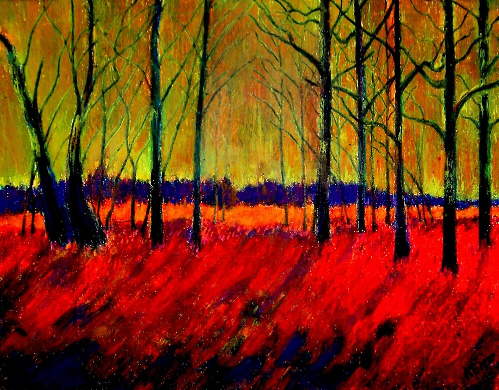 AUTUMN FLAME 1 by Kent Whitaker