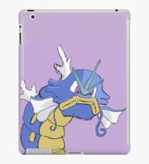Gyarados with a closed mouth iPad Case/Skin