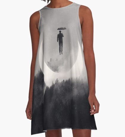 Chasing the Light A-Line Dress