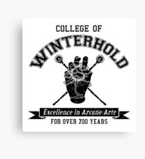 Winterhold College Canvas Print