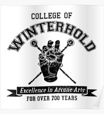 Winterhold College Poster