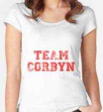 Team Corbyn Women's Fitted Scoop T-Shirt