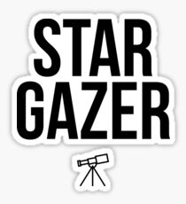 STAR GAZER Sticker