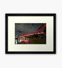 Story Bridge Framed Print