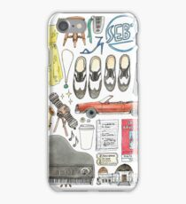 La La Land Illustration Jazz Saxophone Music Musical  iPhone Case/Skin