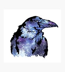 Space Raven Photographic Print