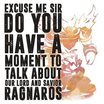 Ragnaros-Game wordart by ProjectPixel