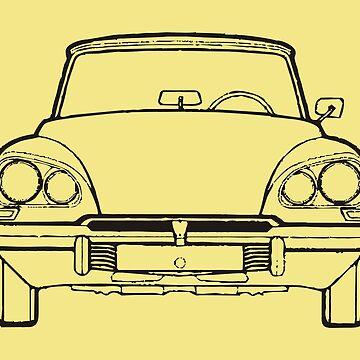 DS 20, Classic car 1968 by Boxzero