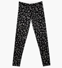 Nature and animals pattern Leggings