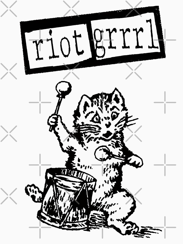 Riot Girl t shirt grrrl power by vanitees5211