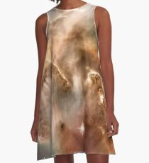Pearl Galaxy A-Line Dress