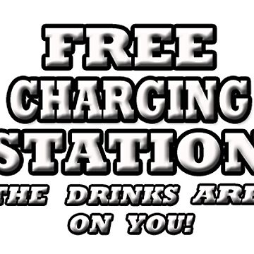 FREE CHARGING STATION by futuramazing
