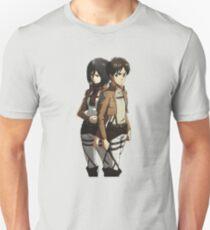 Mikasa and Eren Anime Inspired Shirt T-Shirt