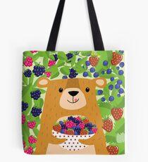I love berries - Beeriger Bär Tote Bag