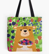 I love berries - Beeriger Bär Tote Bag