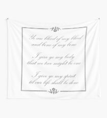 Scottish vows, wedding vows Wall Tapestry