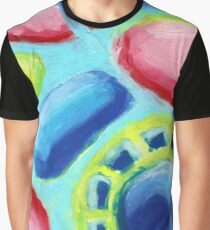 Phychedelic Candy 2 - Abstract Oil Pastel Painting No 3 Graphic T-Shirt