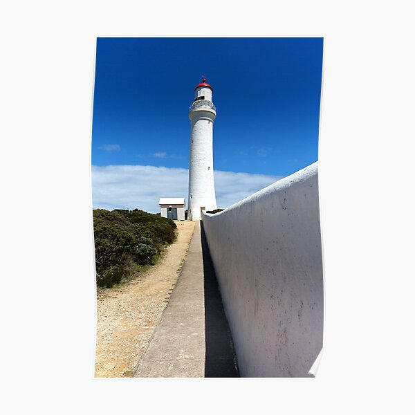 1627 Cape Nelson Lighthouse Poster
