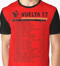 Vuelta a Espana 2017 Graphic T-Shirt