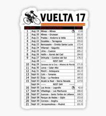 Vuelta a Espana 2017 Sticker