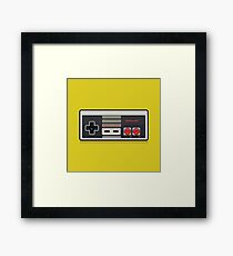 Nintendo NES Controller Framed Print