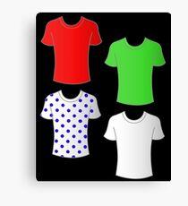 Vuelta a Espana shirts Canvas Print