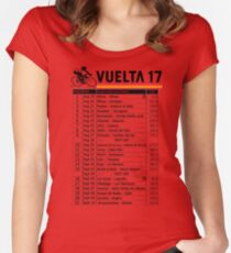 Vuelta a Espana 2017 Women's Fitted Scoop T-Shirt