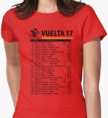 Vuelta a Espana 2017 Womens Fitted T-Shirt