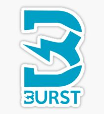Burst Logo Sticker
