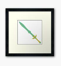 Glass Sword Framed Print
