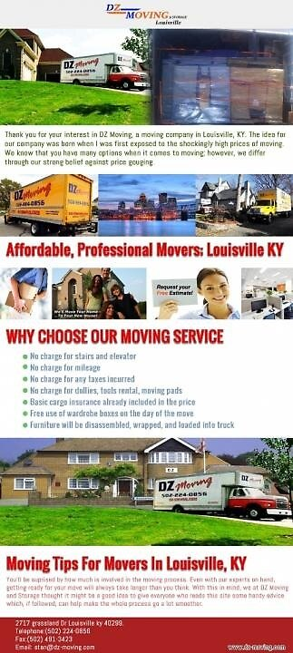Moving Services Prospect KY by dzmoving
