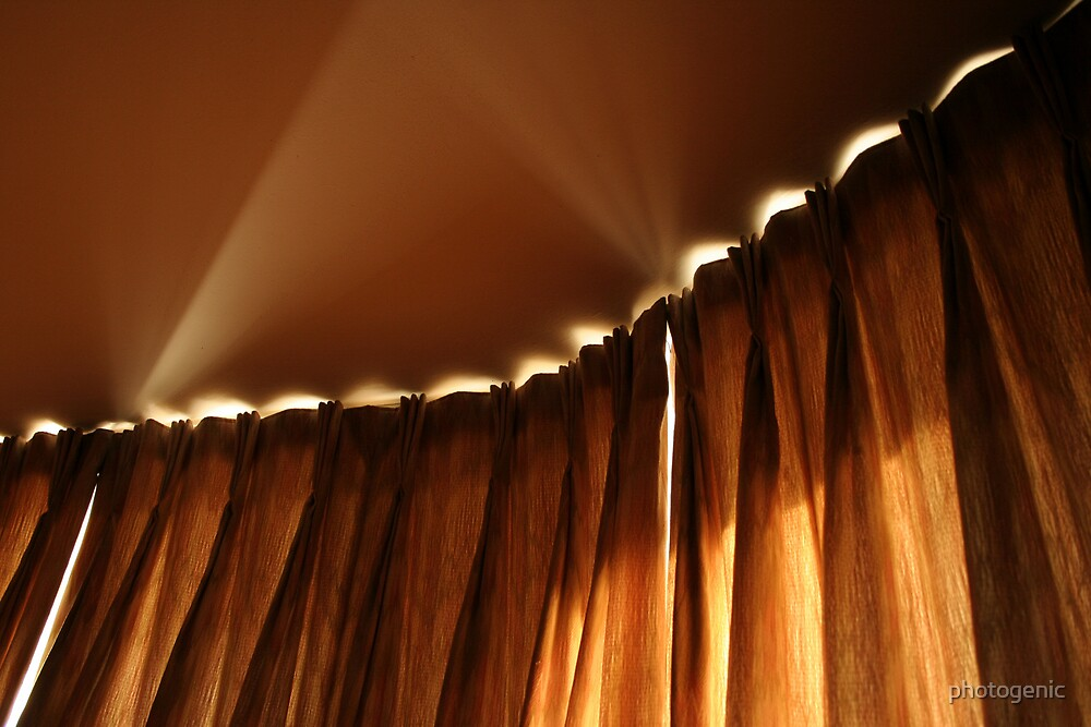 curtains light and shadows by photogenic