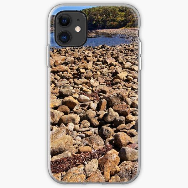 0102 Stony beach - Mimosa Rocks iPhone Soft Case