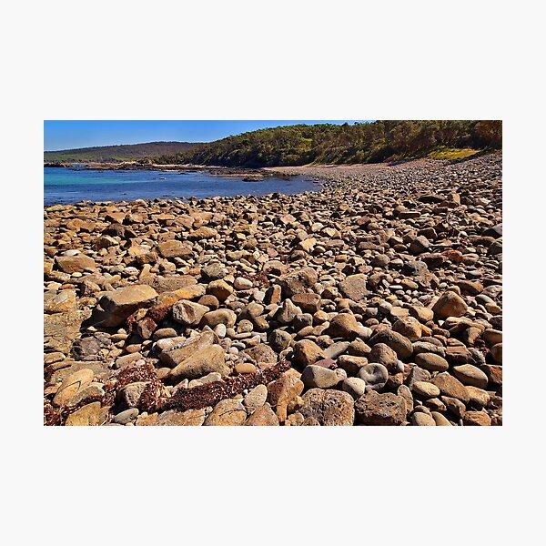 0102 Stony beach - Mimosa Rocks Photographic Print