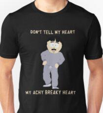 Camiseta unisex South Park Randy Marsh Achy Breaky Heart